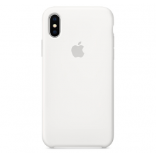 Чехол Apple Silicone Case для iPhone X White