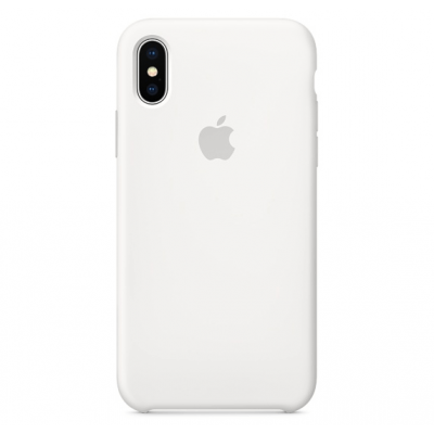 Чехол Apple Silicone Case для iPhone Xs Max White