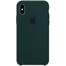 Чехол Apple Silicone Case для iPhone Xs Max Forest Green
