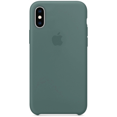 Чехол Apple Silicone Case для iPhone X/Xs Pine Green
