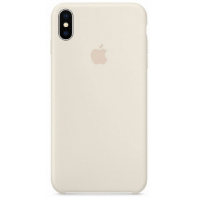 Чехол Apple Silicone Case для iPhone X/Xs Antique White