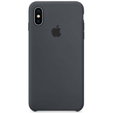 Чехол Apple Silicone Case для iPhone Xs Max Charcoal Gray