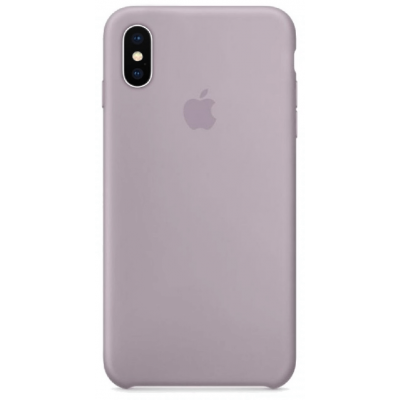 Чехол Apple Silicone Case для iPhone Xs Max Lavender