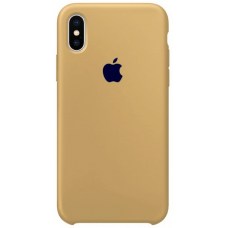 Чехол Apple Silicone Case для iPhone X/Xs Mustard