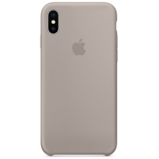 Чехол Apple Silicone Case для iPhone X/Xs Pebble