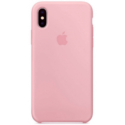 Чехол Apple Silicone Case для iPhone Xs Max Pink