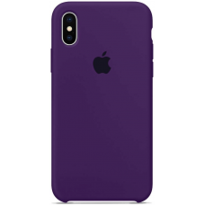 Чехол Apple Silicone Case для iPhone X/Xs Purple