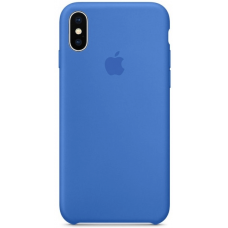 Чехол Apple Silicone Case для iPhone X/Xs Royal Blue