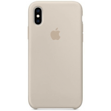 Чехол Apple Silicone Case для iPhone X/Xs Stone