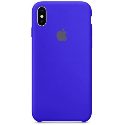 Чехол Apple Silicone Case для iPhone X/Xs Ultramarine