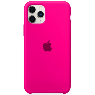 Чехол Apple Silicone Case для iPhone 11 Pro Barbie Pink