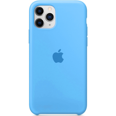 Чехол Apple Silicone Case для iPhone 11 Pro Max Blue