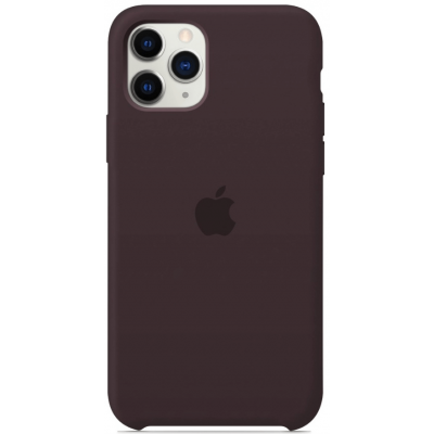 Чехол Apple Silicone Case для iPhone 11 Pro Cocoa