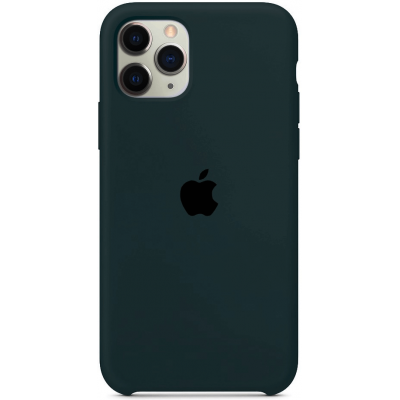 Чехол Apple Silicone Case для iPhone 11 Pro Max Forest Green