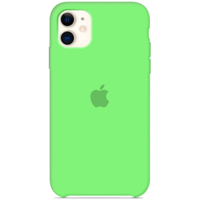 Чехол Apple Silicone Case для iPhone 11 Pro Max Green