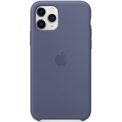 Чехол Apple Silicone Case для iPhone 11 Pro Max  Lavender Gray