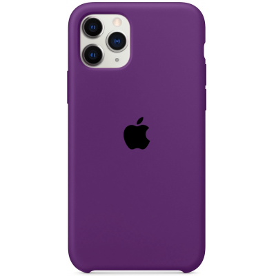 Чехол Apple Silicone Case для iPhone 11 Pro Max Purple