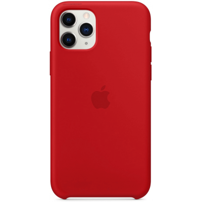 Чехол Apple Silicone Case для iPhone 11 Pro Max Red