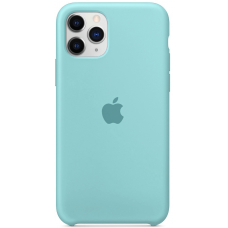 Чехол Apple Silicone Case для iPhone 11 Pro Max Sea Blue