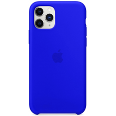 Чехол Apple Silicone Case для iPhone 11 Pro Max Ultramarine