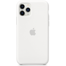 Чехол Apple Silicone Case для iPhone 11 Pro Max White