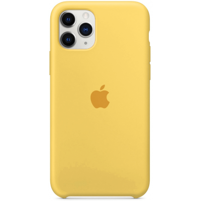 Чехол Apple Silicone Case для iPhone 11 Pro Max Yellow