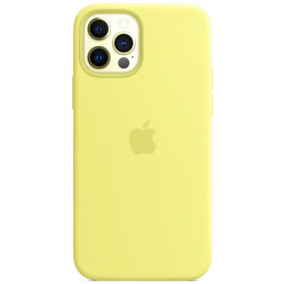 Чехол Apple Silicone Case для iPhone 12 Pro Lemonade