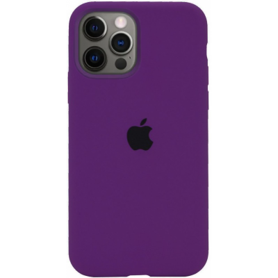 Чехол Apple Silicone Case для iPhone 12 Pro Max Purple