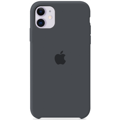 Чехол Apple Silicone Case для iPhone 11 Charcoal Gray