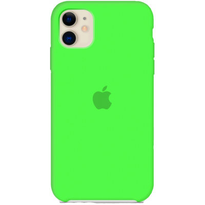Чехол Apple Silicone Case для iPhone 11 Green