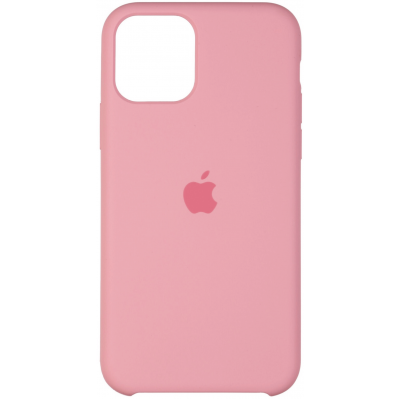 Чехол Apple Silicone Case для iPhone 11 Light Pink