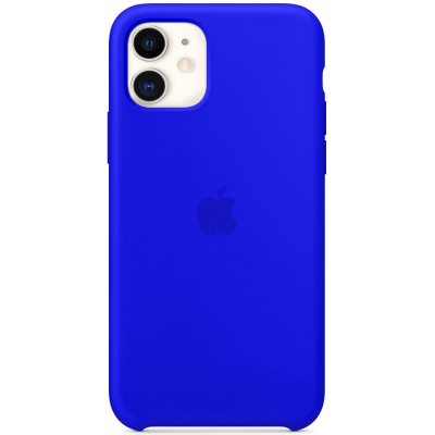 Чехол Apple Silicone Case для iPhone 11 Ultramarine