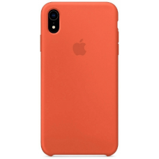 Чехол Apple Silicone Case для iPhone XR Apricot