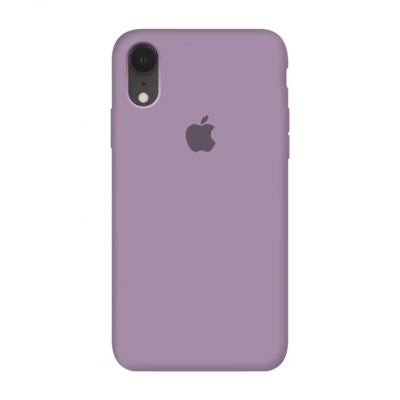 Чехол Apple Silicone Case для iPhone XR Blueberry