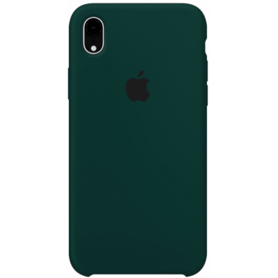 Чехол Apple Silicone Case для iPhone XR Forest Green