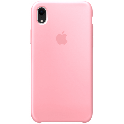 Чехол Apple Silicone Case для iPhone XR Pink