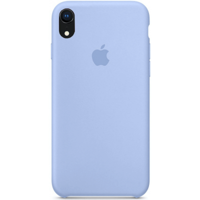 Чехол Apple Silicone Case для iPhone XR Lilac