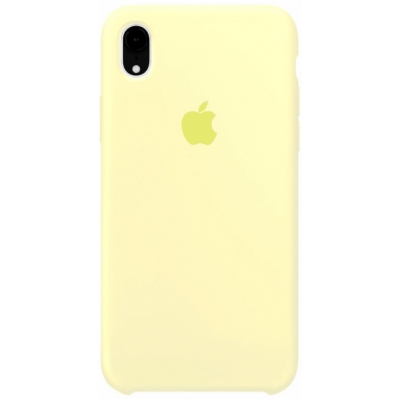 Чехол Apple Silicone Case для iPhone XR Mellow Yellow