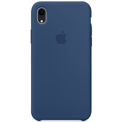 Чехол Apple Silicone Case для iPhone XR Ocean Blue