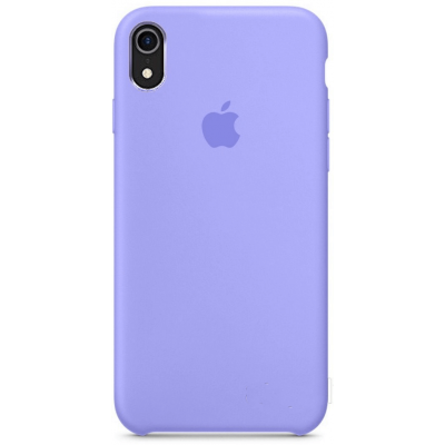 Чехол Apple Silicone Case для iPhone XR Light Purple