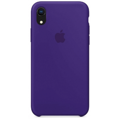 Чехол Apple Silicone Case для iPhone XR Ultra Violet