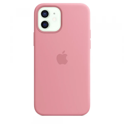 Чехол Apple Silicone Case для iPhone 12 Pink