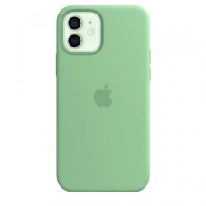 Чехол Apple Silicone Case для iPhone 12 Spearmint