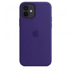 Чехол Apple Silicone Case для iPhone 12 Ultra Violet