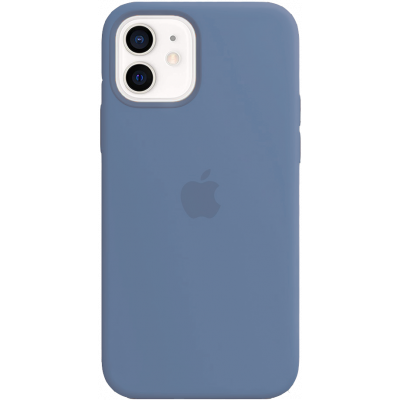 Чехол Apple Silicone Case для iPhone 12 Azure