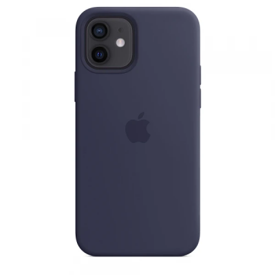 Чехол Apple Silicone Case для iPhone 12 mini Midnight Blue