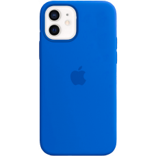 Чехол Apple Silicone Case для iPhone 12 Royal Blue