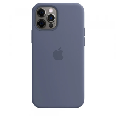 Чехол Apple Silicone Case для iPhone 12 Pro Alaskan Blue