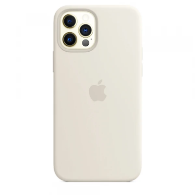 Чехол Apple Silicone Case для iPhone 12 Pro Antique White