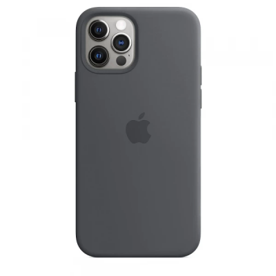 Чехол Apple Silicone Case для iPhone 12 Pro Max Charcoal Gray